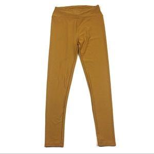 ☕️5/$25 Lularoe One Size Mustard Color Leggings